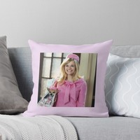 'Legally Blonde' Throw Pillow by NARKOMANAMI