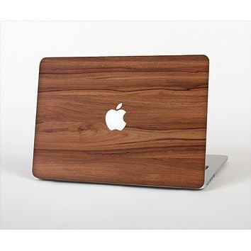 The Smooth-Grained Wooden Plank Skin Set for the Apple MacBook Pro 15""