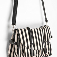 Cooperative Canvas Stripe Satchel