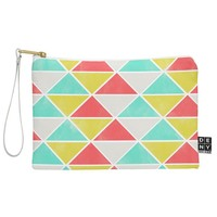 Allyson Johnson Summer Triangles Pouch