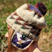 Hand-Knitted Cap