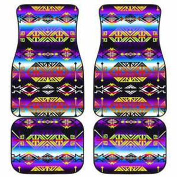 Trade Route West Set of 4 Car Mats