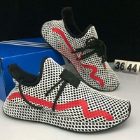 ADIDAS DEERUPT RUNNER Grid Men's and women's sports and leisure running shoes F-CSXY