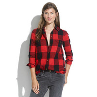 Flannel Tomboy Workshirt in Check