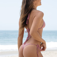 ACACIA SWIMWEAR - Polihale Mesh Bottom | Orchid