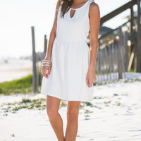 Afterswoon Delight Dress, Ivory