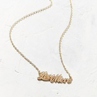 Love More Nameplate Necklace | Urban Outfitters
