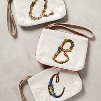 Monogram Pouch by Miss Albright Assorted