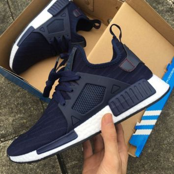 """""""Adidas"""" NMD XR1 Duck Camo Women Men Running Sport Casual Shoes Sneakers Camouflage (Black stripe)"""