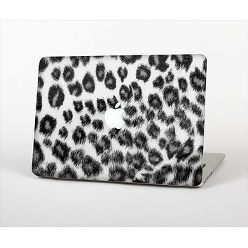"""The Real Snow Leopard Hide Skin Set for the Apple MacBook Air 13"""""""
