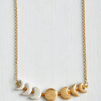 Cosmic Phase Gone By Necklace by ModCloth