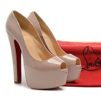 CL Christian Louboutin Fashion Heels Shoes-18