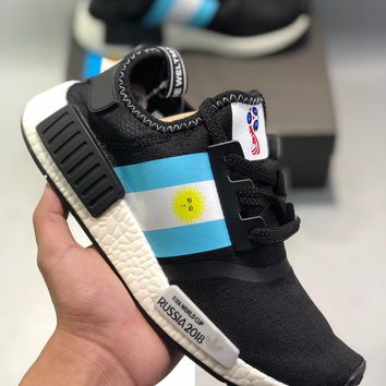 Cheap Women's and men's Adidas Sports shoes ADIDAS NMD R1 worldcup
