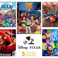 Pixar Jigsaw Puzzles 5 in 1 Multi Pack from Ceaco