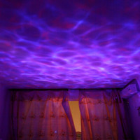 Amazing Romantic Colorful Aurora Sky Holiday Gift Cosmos Sky Master Projector LED Starry Night Light Lamp Ocean Wave Projector