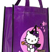 Hello Kitty Witch Trick-or-Treat Bag Halloween Party Supply