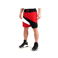 Air Jordan Men's Jumpman Wave Tricot Shorts Red Black White