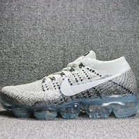 Best Deal Online 2018 Nike Air Max VaporMax Flyknit Men Women Running Shoes Black Grey