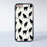 Lots of cute black cats  Plastic Case Cover for Apple iPhone 6 6 Plus 4 4s 5 5s 5c