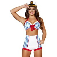 Red, White, & Blue Pinup Sailor Costume