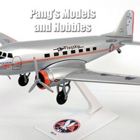 Douglas DC-3 American Airlines - Flagship Knoxville - 1/100 Scale Model by Flight Miniatures