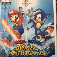 Mario & Sonic at the Olympic Winter Games (Nintendo Wii, 2009)