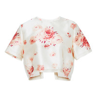 Helen Rose Printed Satin Top