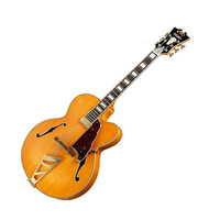 D'Angelico EXL-1 Archtop Electric Guitar with Case - Natural at Hello Music