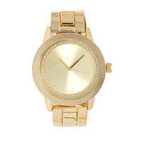 FOREVER 21 Classic Oyster Band Watch