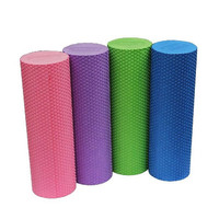 EVA Foam Roller Yoga Pilates Exercise Back Home Gym Massage 45x15cm = 1932417540