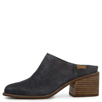 Toms Leila Forged Iron Grey Suede Women's Mules