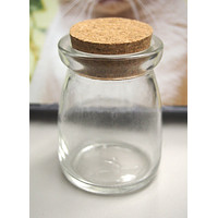 Mini Corked Jars Favor Bottle Keepsake Souvenir, Spice