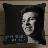 The Shawn Mendes Square Pillow Case Custom Zippered Pillow Case one side and two side