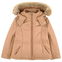 Girls Padded Short Cut Jacket (Mini-Me)