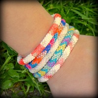 Lily and Laura Bracelets - Nepal