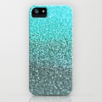 GATSBY TEAL iPhone & iPod Case by Monika Strigel