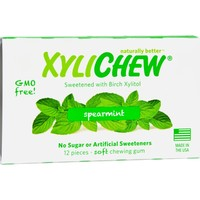 XyliChew Sugar Free Chewing Gum Spearmint - 12 Pieces