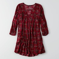 AEO Keyhole Swing Dress