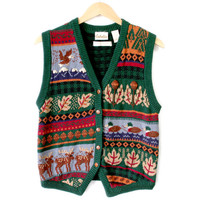 Things To Hunt And Kill Ugly Sweater Vest