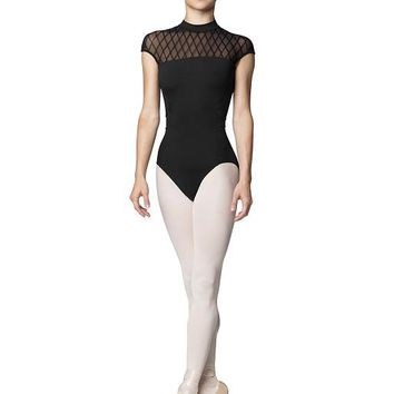 Zip Back Cap Sleeve Leotard L9922 by Bloch