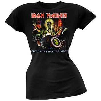 Iron Maiden - Out Of The Silent Planet Juniors T-Shirt