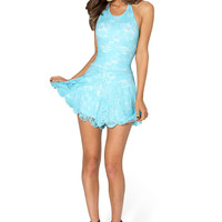 Once Upon A Time Sky Blue Playsuit