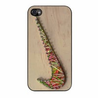 Nike Wood Rubber Band Master iPhone 4s Case
