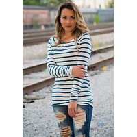 Strike A pose Tunic- Teal
