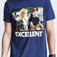 Junk Food Wayne's World Tee- Navy
