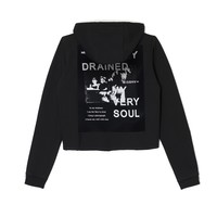 DRAINED & CHAINED HOODIE (BLACK)