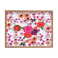 Vy La Bloomimg Love 1 Rectangular Tray