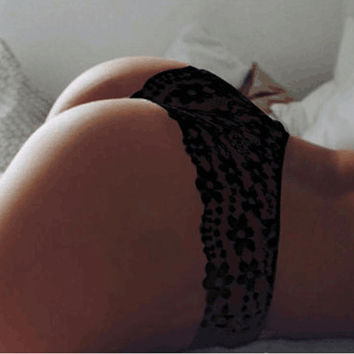 New Arrival 2017 Women Underwear Sexy Lace Seamless Glamour Panties Hollow Out Intimates Lingerie Kn