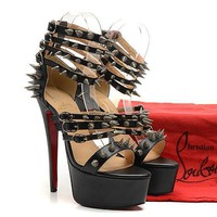 CL Christian Louboutin Fashion Heels Shoes-1