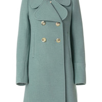 Chloé Oversized Collar Double Breasted Coat - Farfetch